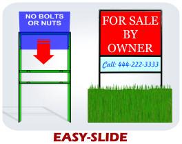 easy slide frame - Yard Sign Frames