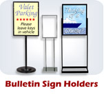 Bulletin Sign Holders