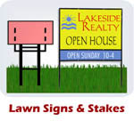 Lawn Signs & Stakes